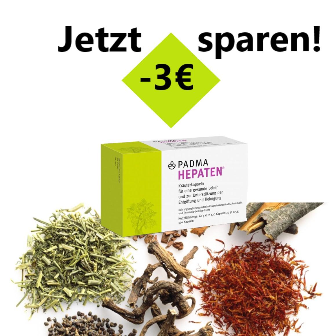 Padma Hepaten -3€ Frühjahrsaktion